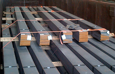 GatorLASH _ Steel Plate Bundles - Gondola Car